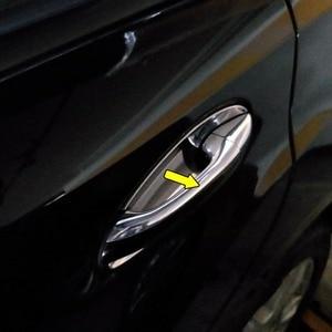 Image 2 - Kapı kulp kılıfı Trim Mercedes Benz C sınıfı W203 2000 2007 ABS krom gümüş