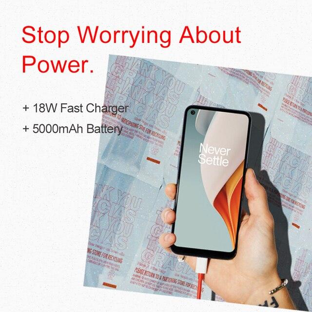 "Global Version N100 4GB 64GB Smartphone 90Hz 6.52"" Screen 13MP Triple Cameras 5000mAh 18W  4"