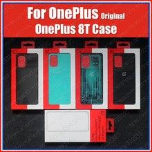 KB2001 oficjalne osłony ochronne do obudowy OnePlus 8T prawdziwy oryginalny piaskowiec zderzak kwantowy Cyborg Cyan zderzak węglowy