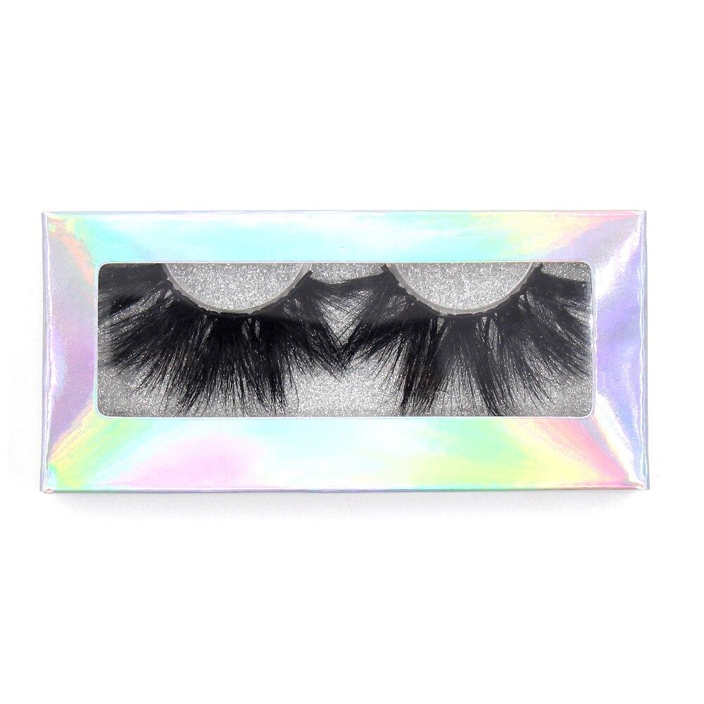 Image 5 - LEHUAMAO 35Pairs/lot  Mink Lashe 3D 25mm Mink Eyelashes Criss cross  Fluffy false eyelashes Popular Lashe Dramatic Eyelashes-in False Eyelashes from Beauty & Health