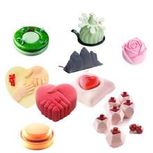 Meibum – moule à gâteau en Silicone antiadhésif, poêle à pâtisserie, 28 Types, Mousse de fête, Dessert, outils de décoration, ustensiles de cuisine