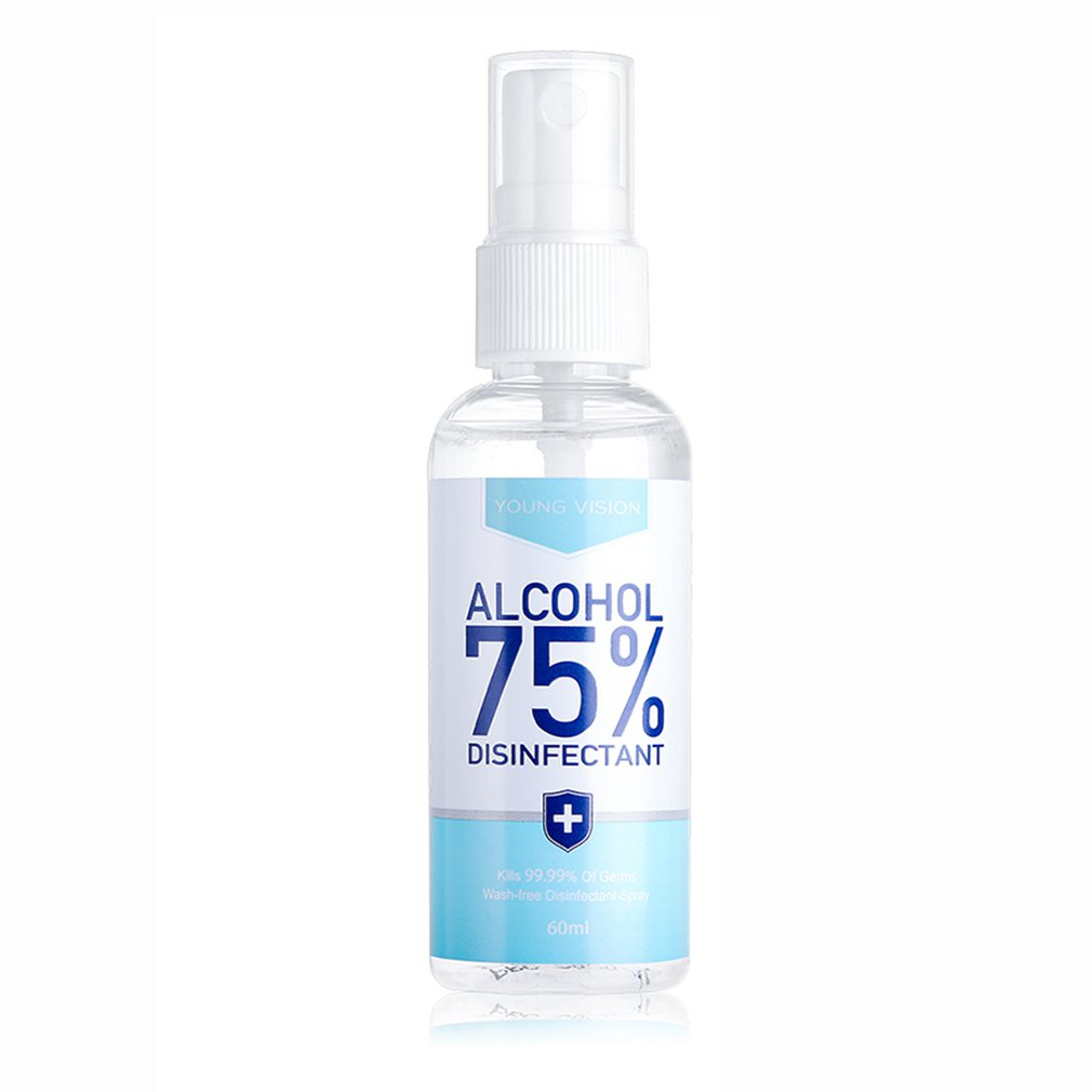 Disposable Hand Sanitizer Spray 75% Gel Alcohol Spray   / Disinfectant Liquid  Hand Sanitizer Portable  For Home Or Travel