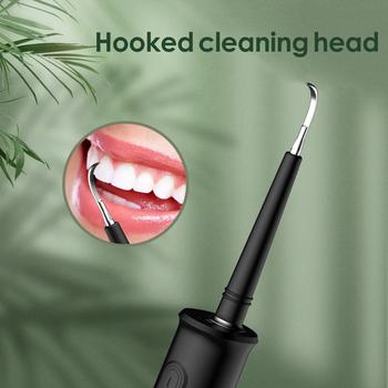 IDestone elektryczna soniczna szczoteczka do zębów skaler dentystyczny Oral Cleaner ząb usuwanie kamienia czyszczenie zębów plamy tatar narzędzie wybielić zęby tanie i dobre opinie CN (pochodzenie) Elektryczny irygator do jamy ustnej NONE dla dorosłych Electric dental scaler akumulator Sonic Electric Toothbrush