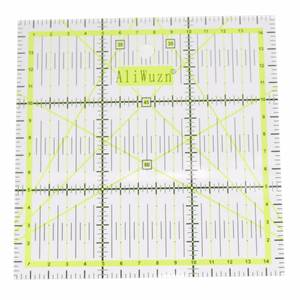 1Pc High-grade Multi-Function Acrylic Drawing Ruler 15*15cm Sewing Measuring Patchwork