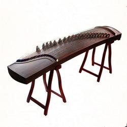 Высокое качество Китай guzheng музыка черное дерево пустой приукрашивать Профессиональный портативный выбрать Zither 21 струны с полными аксессу...