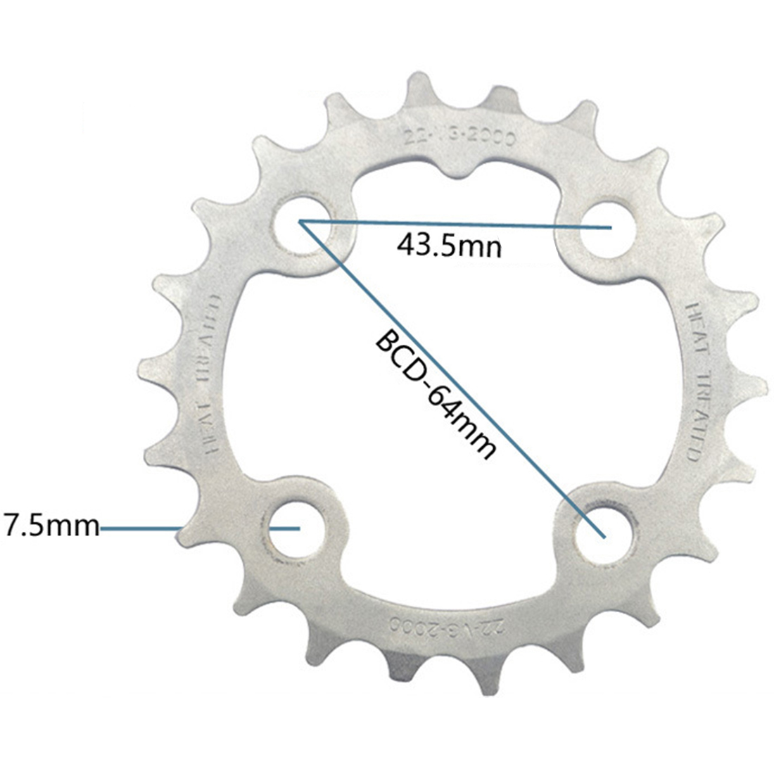 Repair Chainring Chain Ring Sprockets Molybdenum Steel Component Parts