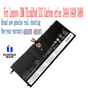 100% Brand new High Quality 46WH/3110mAh 45N1070 45N1071 battery For Lenovo IBM ThinkPad X1C Carbon eries 3444 3448 3460 Laptop image