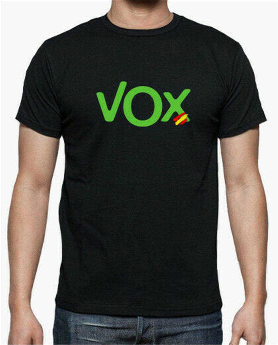 T-Shirt-T-Shirt - Roly Logo Vox Spain Newest Fashion Tee Shirt