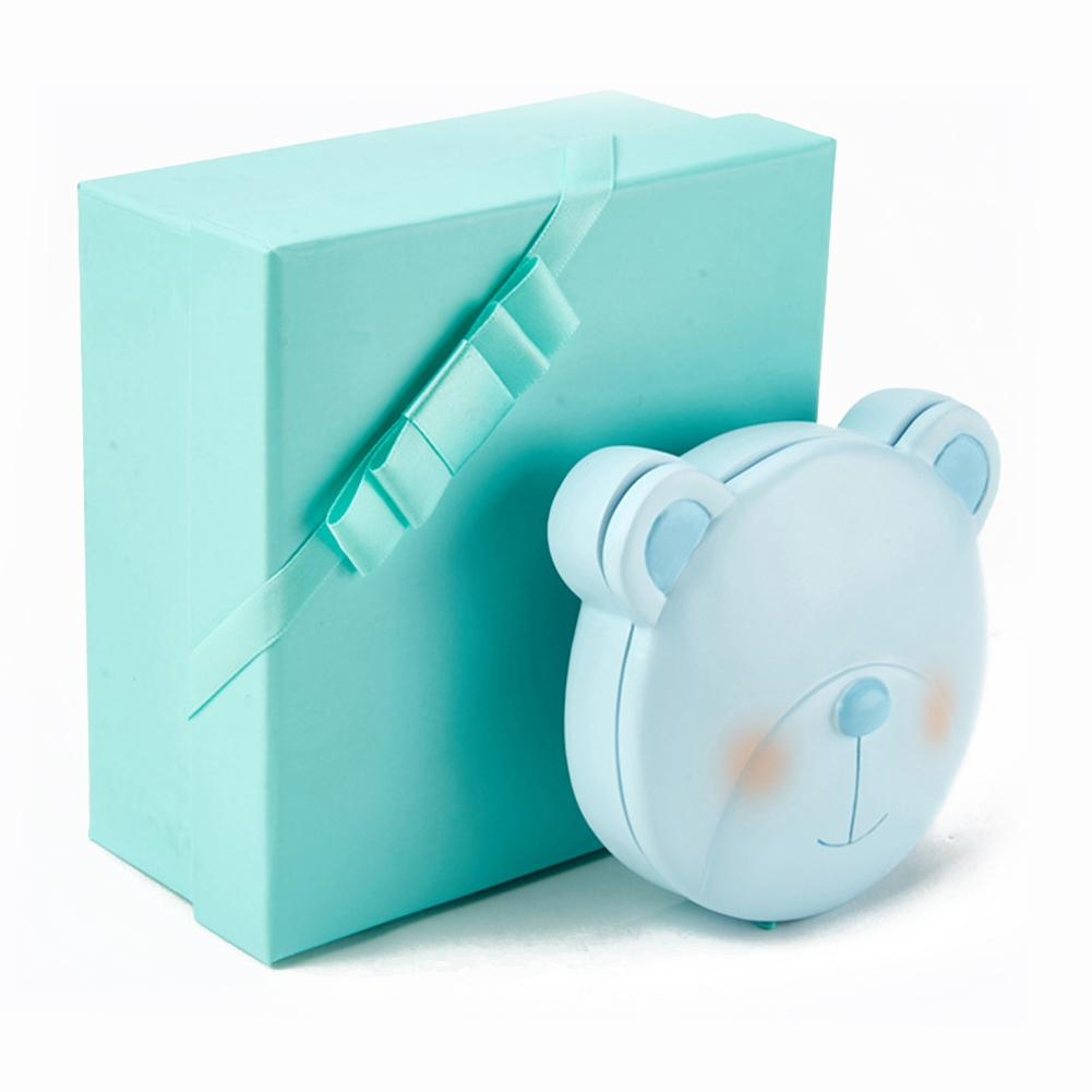 Baby Milk Teeth Box Lovely Cartoon Resin Tooth Box Baby Tooth Organizer Kids Deciduous Storage Collect Box