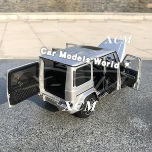 Image 4 - Diecast רכב דגם עבור Minichamps G class (W 463) (כסף) 1:18 + מתנה קטנה!!!