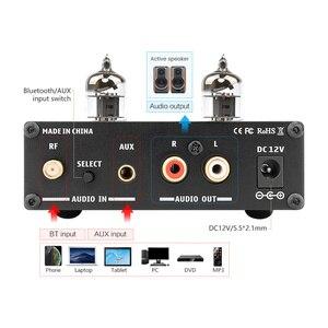 Image 2 - Aiyima HIFI Bluetooth 5.0 6J1 Ống Chân Không Khuếch Đại Tiền Khuếch Đại Preamp Amp Có Bass Treble Điều Chỉnh Cho Nhà Âm Thanh Sân Khấu