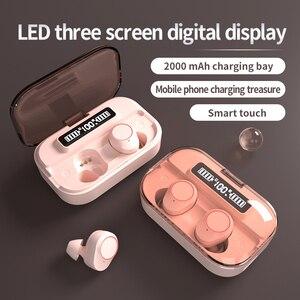 TWS Bluetooth Earphones 5.0 9D