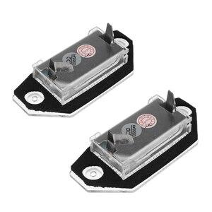 Image 4 - 2 pces 12v 24 led luzes da placa de licença do número do carro lâmpadas branco para ford mondeo mk3 mkii 2000 2007 4 porta/5 porta