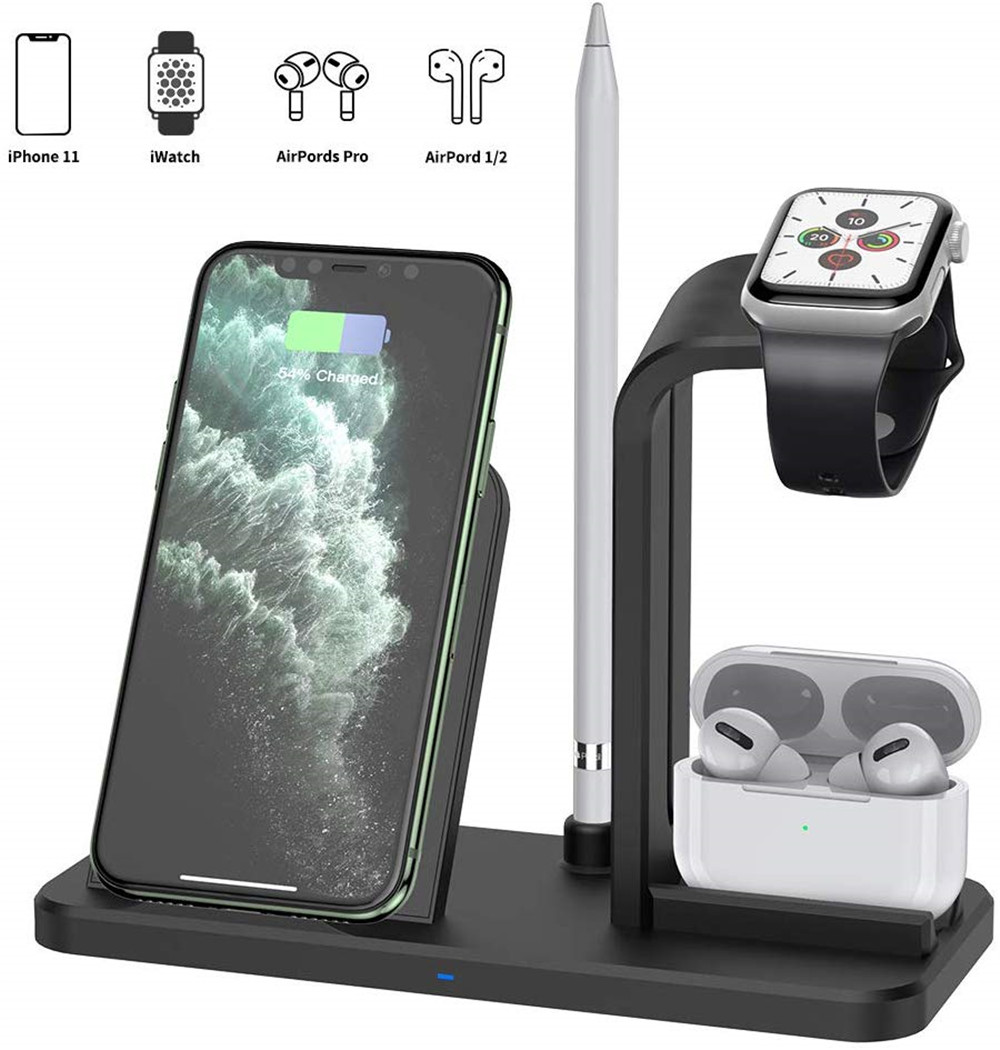For Apple Watch 5 4 3 Airpods Pro Charger Dock Station Bracket
