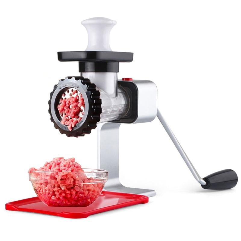 Meat Grinder Mincing Machine For Home Manual Vegetable Mincer Meat Slicer Fish Grinder Kitchen Sausage Machine