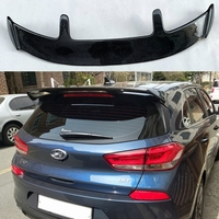 for Hyundai I30 I20 spoiler high quality carbon fiber material car rear wing spoiler 2008 2019