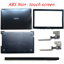 цена на For ASUS N550 N550LF N550J N550JA N550JV Laptop LCD Back Cover/Front Bezel/LCD Hinges/Hinges Cover/Palmrest/Bottom Case