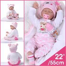 55cm Baby Simulation Doll Child Born Baby Emulated Newborn C