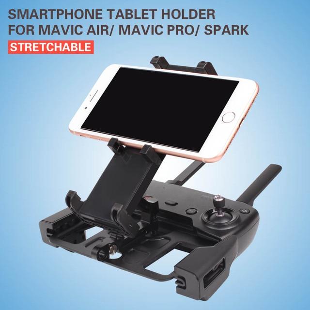 Soporte metálico para tableta y teléfono inteligente, abrazadera de soporte para control remoto DJI MAVIC MINI AIR MAVIC 2 PRO SPARK