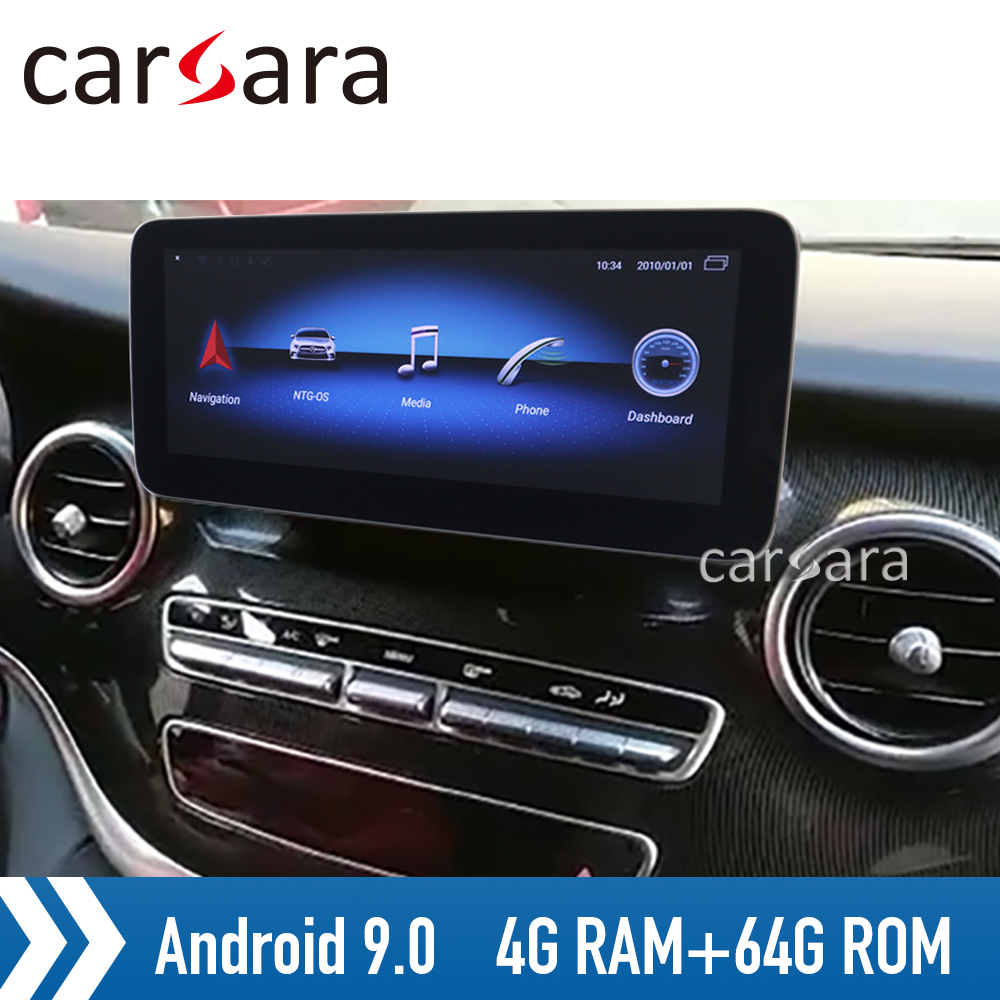 <font><b>Android</b></font> 9 NTG5 4G RAM display V class <font><b>w447</b></font> dashboard audio system Vito head unit radio monitor V200 car navigation dvd player image