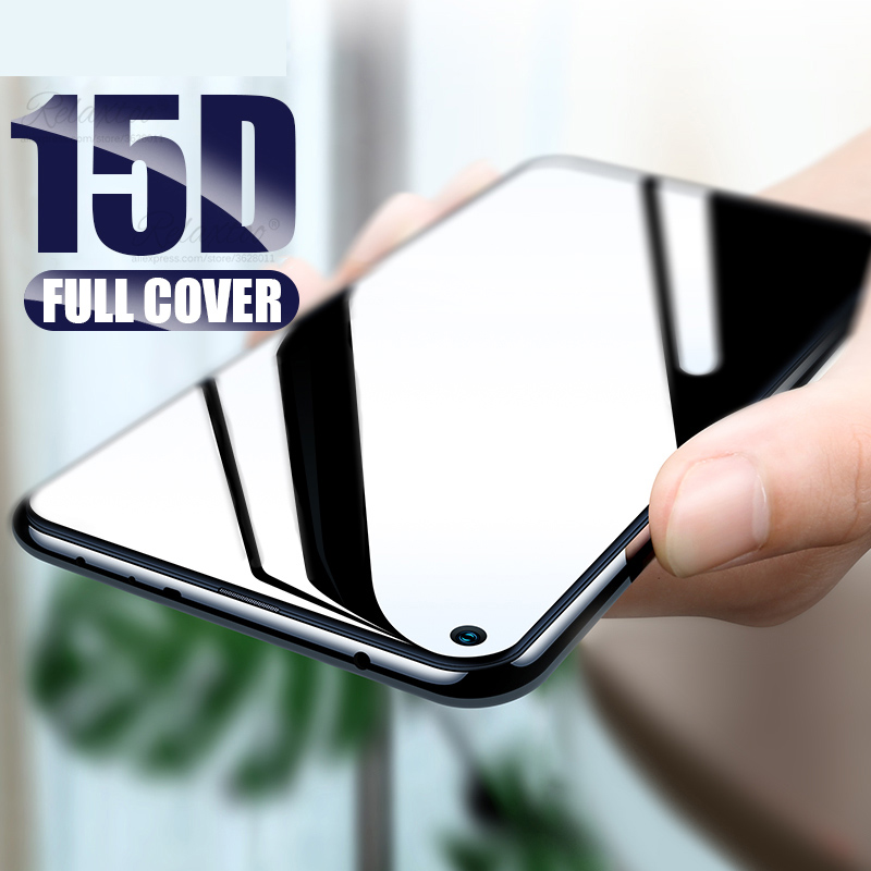 15D Full Cover Tempered Glass For Huawei Honor View 20 V20 20i Screen Protector On Honor 20 Pro Lite Protective Film Hono V 20