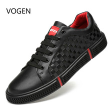 Genuine Leather Men Casual Shoes Brand 2020 Men