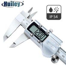 Calibrador Vernier Digital multifunción IP54, herramienta de medición relativa, calibradores electrónicos de acero inoxidable