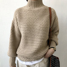 Новинка 2020 плотные теплые зимние свитера для женщин Пуловеры