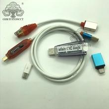 Oryginalny nowy klucz sprzętowy Infinity Box Infinity CM2 + umf kabel rozruchowy all in 1 do telefonów GSM i CDMA