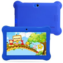 "7 ""Quad Core Android Tablet PC HD WiFi Webcam 8GB para los niños regalo de los niños(China)"