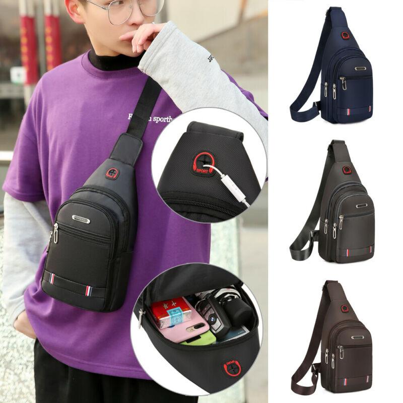 2019 Brand New Style Fashion Men Women Shoulder Bag Sling Chest Pack Oxford Travel Sports Cross Body Chest Bag