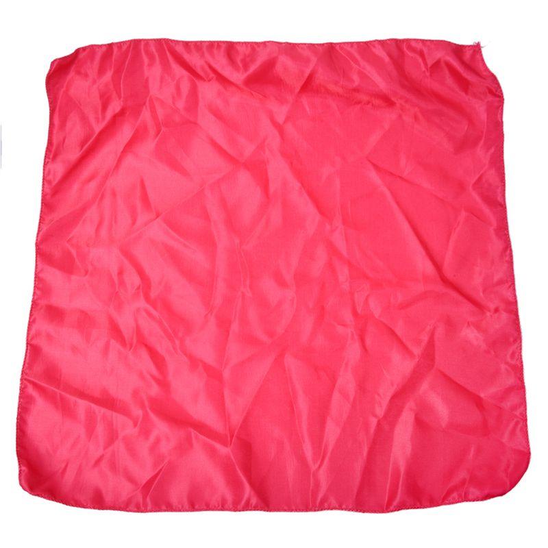 New Hot Darkpink Cloth Napkins Satin For Banquet Wedding Dinner Holiday Party 51x51cm