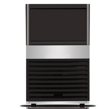 85 кг/день Автоматическая электрическая квадратная форма Ледогенератор Blu-Ray дезинфицирующий кубик льда делая машину для молоко чай кофе бар магазин ZC-091