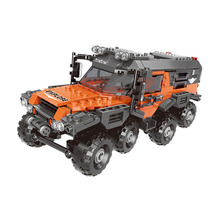 New XingBao 03027 TECHNIC Car Series The All Terrain Vehicle Set Building Blocks Bricks Compatible Legoings Technic Juguetes
