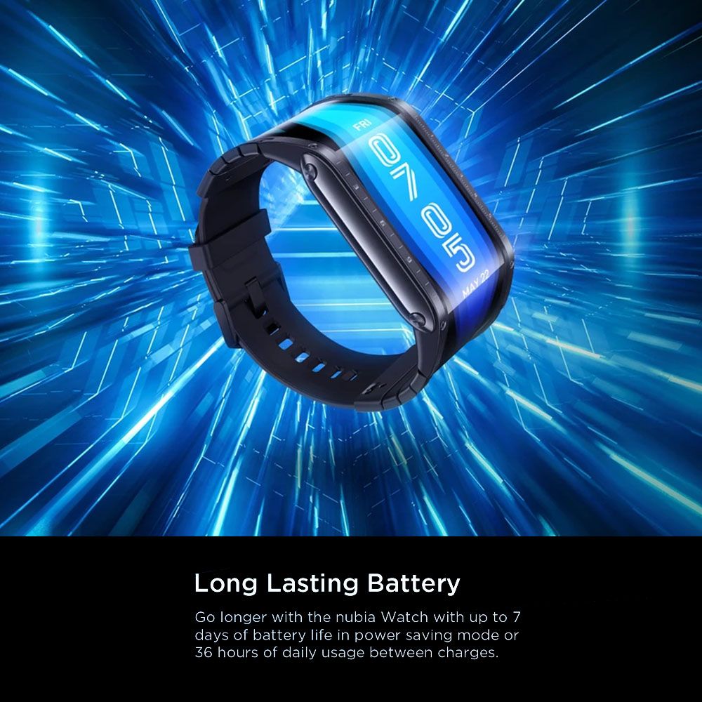 """Глобальная версия оригинальный Nubia Смарт-часы телефон 4,01 """"AMOLED Складная Snapdragon 8909W Bluetooth сотовый телефон Nubia часы-1"""