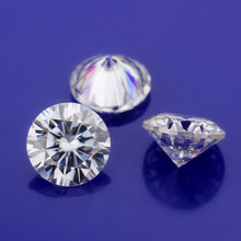 Loose-Stone-Beads Moissanites Brilliant-Cut for Engagement-Rings-Making Round-Shape Def-Color
