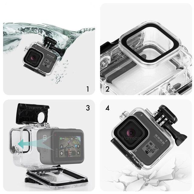 Υποβρύχια αδιάβροχη θήκη κάμερας