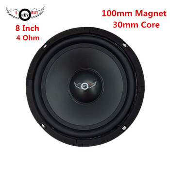 катушка индуктивности jantzen iron core coil discs 21 awg 0 70 mm 5 100 mh 0 730 ohm I KEY BUY 8 Inch 100 mm Magnet 400 W High Power Speaker 4 Ohm 30 mm Core HIFI Midrange Audio Louder Car Speakers Woofers