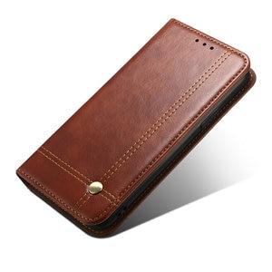 Image 4 - Redmi 9C Flip Case Red Mi 9 A C C9 Phone Cover 360 Protect Leather Shell for Xiaomi Redmi 9C Case Luxury Wallet Funda Redmi 9A