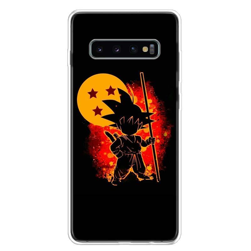 Dragon Ball Z Oku Super Phone Case For Samsung Galaxy S10 S20 Ultra Note 10 9 8 S10E S9 S8 S7 Edge J4 J6 J8 Plus + Cover Coque
