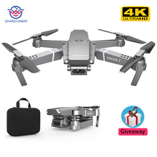 E68 drone HD wide angle 4K WIFI 1080P FPV drone video live r