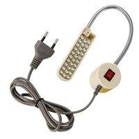Super brillante máquina de coser con luz LED 10/20/30 LED multifuncional cuello de cisne Lámpara de trabajo para tornos, perforadoras, bancos de trabajo