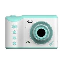 어린이 카메라 2.8 인치 IPS 눈 보호 화면 HD 보도 화면 디지털 듀얼 렌즈 18MP 카메라 어린이위한