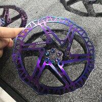 Fouriers ultra leve bicicleta rotores de freio a disco hidráulico mtb bicicleta de corrida de estrada rotor disco de freio 140mm 160mm 180mm 203mm|Freio da bicicleta| |  -