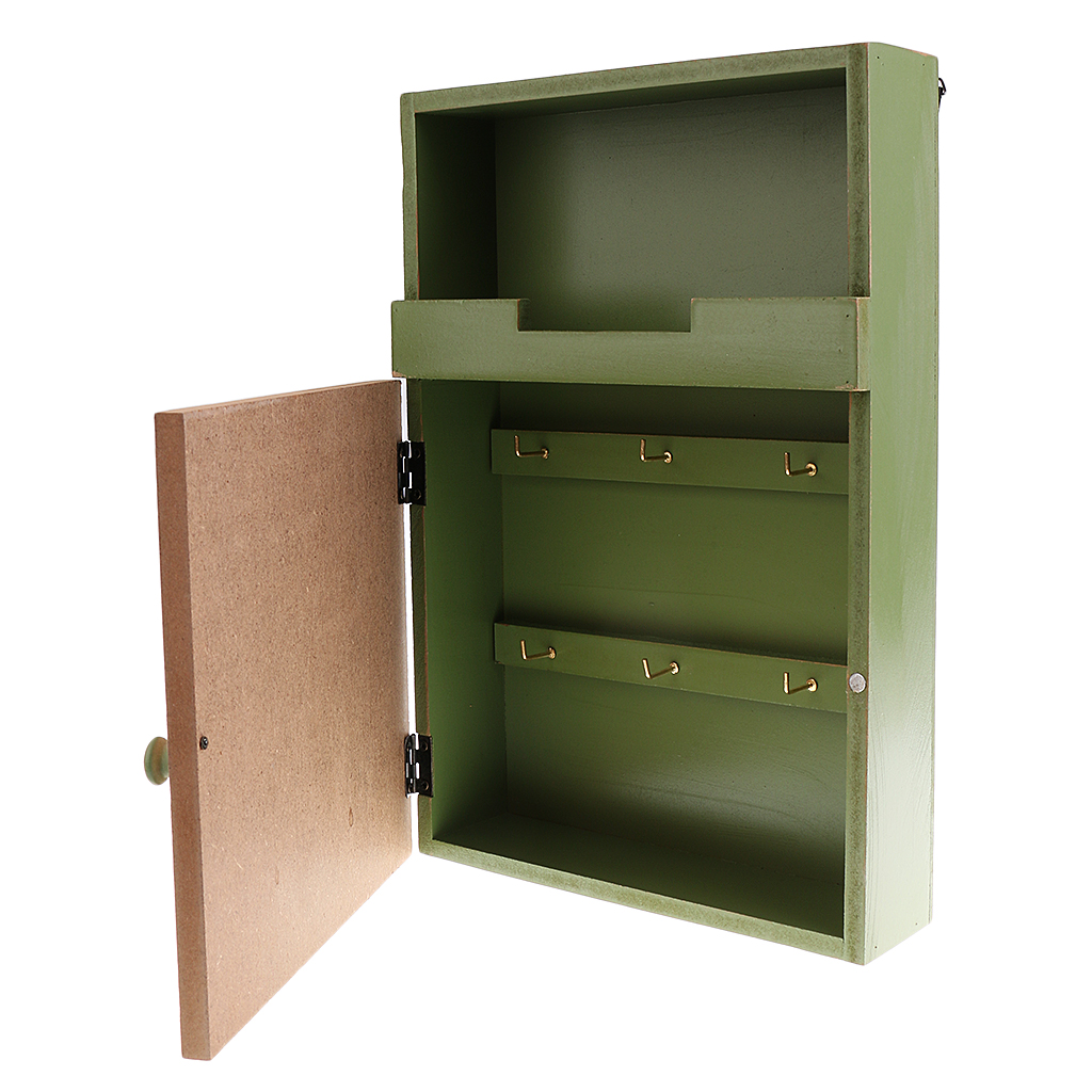 Metal Office Letter Bin Mail Box Wall Basket Storage Organizer Bins Rustic Decor