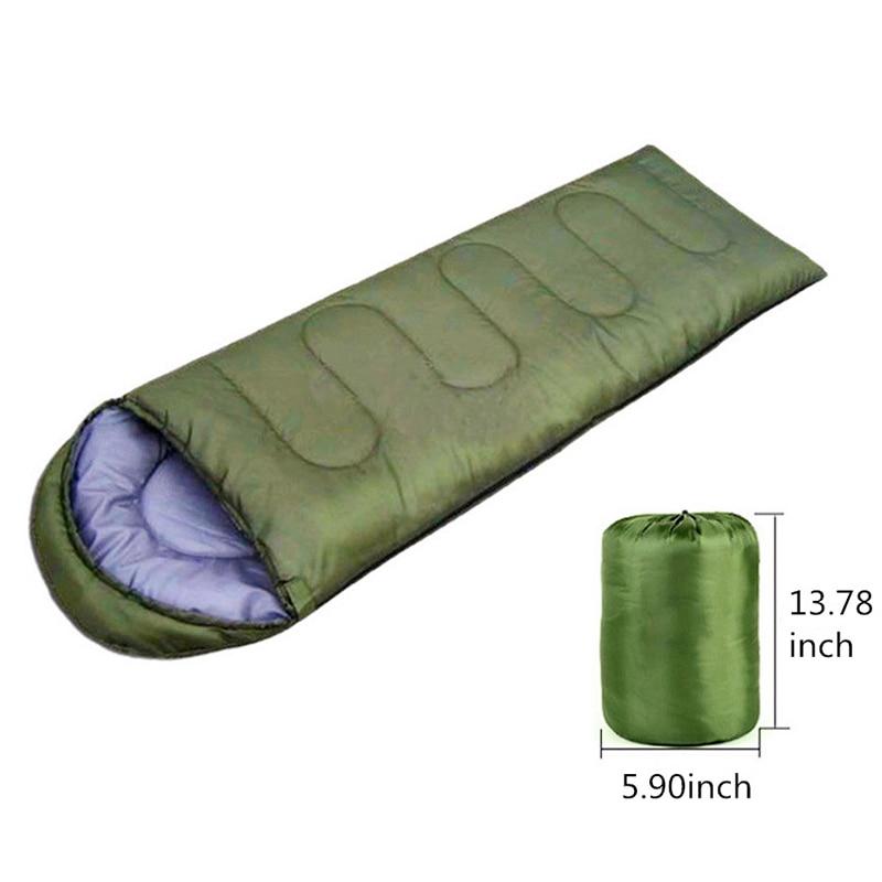 Sleeping Bag Camping Envelope Sleeping Bag Thermal Adult Children Winter Sleeping Bag Outdoor Travel Waterproof Sleeping Bed 7