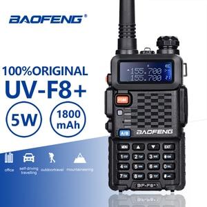 Image 1 - Baofeng BF F8 + อัพเกรดใหม่Walkie TalkieตำรวจวิทยุPofung F8 + 5W UHF VHF Dual Bandยาวกลางแจ้งHam Transceiver