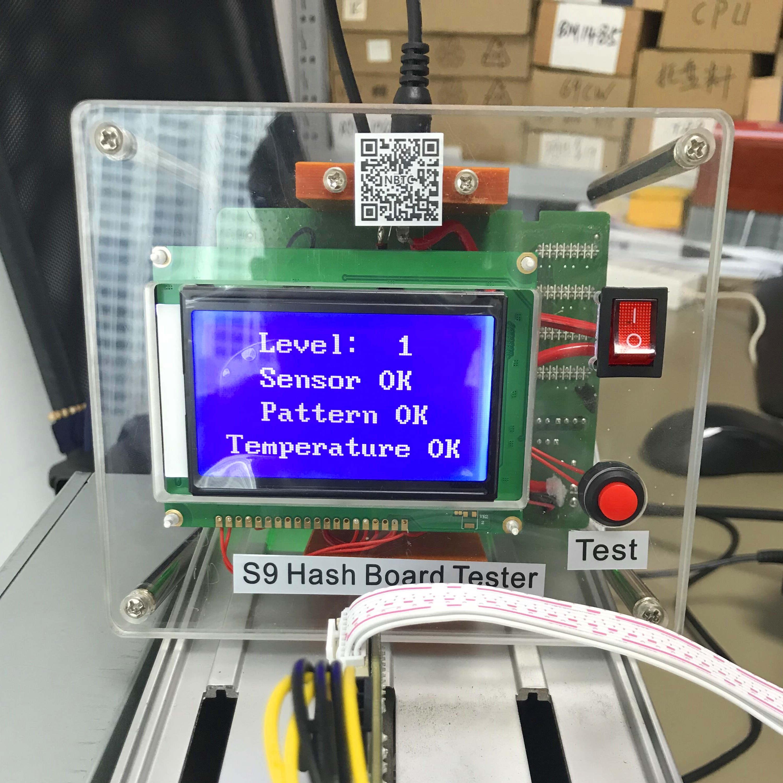 Full Set Test Fixture Hash Board Hashboard Tester For Antminer S9 S9i S9j T9 T9+ S9K / S9 SE Replace Chip BM1387 BM1387B