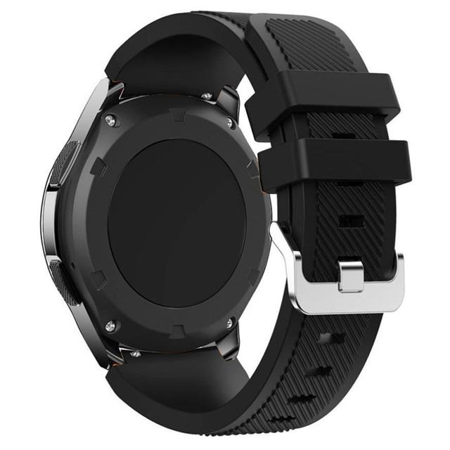 22mm pulseira de relógio para samsung galaxy relógio 46mm 42mm ativo 2 engrenagem s3 fronteira cinta huawei relógio gt 2e pulseira amazfit bip gtr 47mm