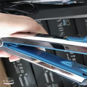 Image 5 - Max 750f pro titânio placa flutuante alisador de cabelo ferro liso profissional rápido alisamento elétrico lcd digital 100 240v